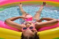 Girl In The Swimming Pool Royalty Free Stock Images - 25660129