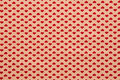 Small Hearts Fabric Background Stock Images - 25669154