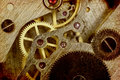 Clock Mechanism Royalty Free Stock Images - 25669429