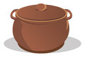 Pot With Lid Royalty Free Stock Images - 25675289