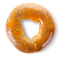 Bagel With Poppy Seeds Stock Photos - 25676533
