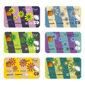 Floral Credit Cards Stock Images - 25699724