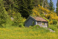 Cabin In The Mountains Stock Photo - 2570040