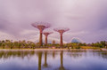 Gardens By The Bay, Singapore Stock Image - 25705231