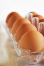 Eggs In Plastic Package Stock Images - 25716064