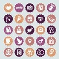 Retro Wedding Collection Royalty Free Stock Photography - 25716967