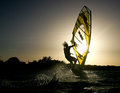 Windsurfing On Bonaire 5. Stock Images - 25722184