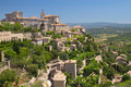 General View Of Hiltop Village Of Gordes. Royalty Free Stock Image - 25728316