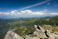 Mountain Ridge In Summer Tarn Royalty Free Stock Image - 25747686