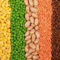 Beans, Lentils, Peas And Corn Royalty Free Stock Photography - 25751967