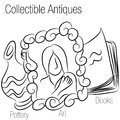 Collectible Antiques Drawing Stock Photos - 25752233