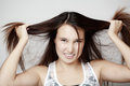 Bad Hair Day Royalty Free Stock Image - 25755616