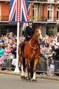 Queens Diamond Jubilee Great Parade Royalty Free Stock Photos - 25763768