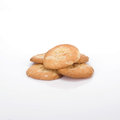 Almond Biscuits Royalty Free Stock Photography - 25764557