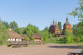 Small Village And Wooden Church Stock Photography - 25768202