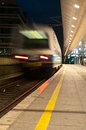 Moving Train Stock Images - 25775524