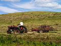Making Hay While The Sun Shines Stock Images - 25794304