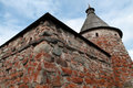 Solovetsky Monastery. White Tower Stock Photography - 25796172