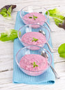 Cold Beet Soup Stock Image - 25804611