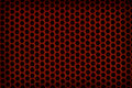 Red Perforated Plastic Background Royalty Free Stock Photography - 25811947