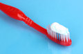 Toothbrush With Paste Royalty Free Stock Photography - 25828197