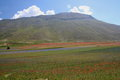 Castelluccio Di Norcia / Mountains View Stock Photography - 25829252