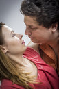 Husband Kissing His Wife Stock Photo - 25836000