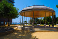 Kiosk Park Next To The Sea Stock Images - 25836114