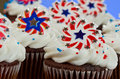 American Cupcakes Royalty Free Stock Image - 25840196