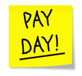 Pay Day! Stock Image - 25841431