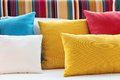 Close Up Of Decorative Pillow Royalty Free Stock Image - 25847246