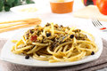 Pasta With Fresh Sardines And Fennel Royalty Free Stock Photos - 25856908