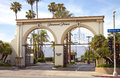 Paramount Pictures Movie Studio Entrance Sign Royalty Free Stock Image - 25857276