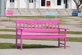 Pink Street Chair Stock Images - 25858724