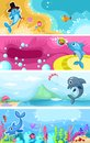 Sea Life Background Stock Images - 25863924