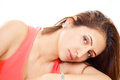 Lonely Woman Royalty Free Stock Photography - 25869407