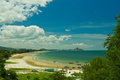 View Of Beach And Sea Hua Hin Royalty Free Stock Photos - 25871208