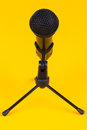 Microphone On Stand Stock Photography - 25874122