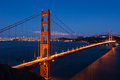 Golden Gate Bridge By Night In San Francisco Royalty Free Stock Images - 25879739