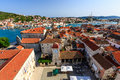 Aerial View On Trogir And It S Main Square Royalty Free Stock Photography - 25884867