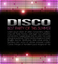 Disco Party Design Royalty Free Stock Photos - 25898868