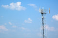 Telecommunication Tower Royalty Free Stock Images - 25900849