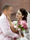 Newly Married Couple Stock Photo - 25905730