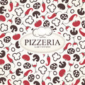Pizzeria Menu Design Royalty Free Stock Images - 25911939