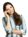 Business Woman Talking On The Phone Stock Photo - 25923660