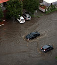 The Flood Inundated A Street In Odessa Stock Images - 25931784