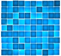 Translucent Blue Cubes Lit From Behind Royalty Free Stock Photography - 25932127