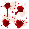 Splattered Blood Stains Stock Photos - 25933023
