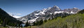 Panoramic View Of Maroon Bells Stock Photography - 25941462