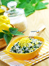 Risotto With Nettles And Lemon Stock Photos - 25942223